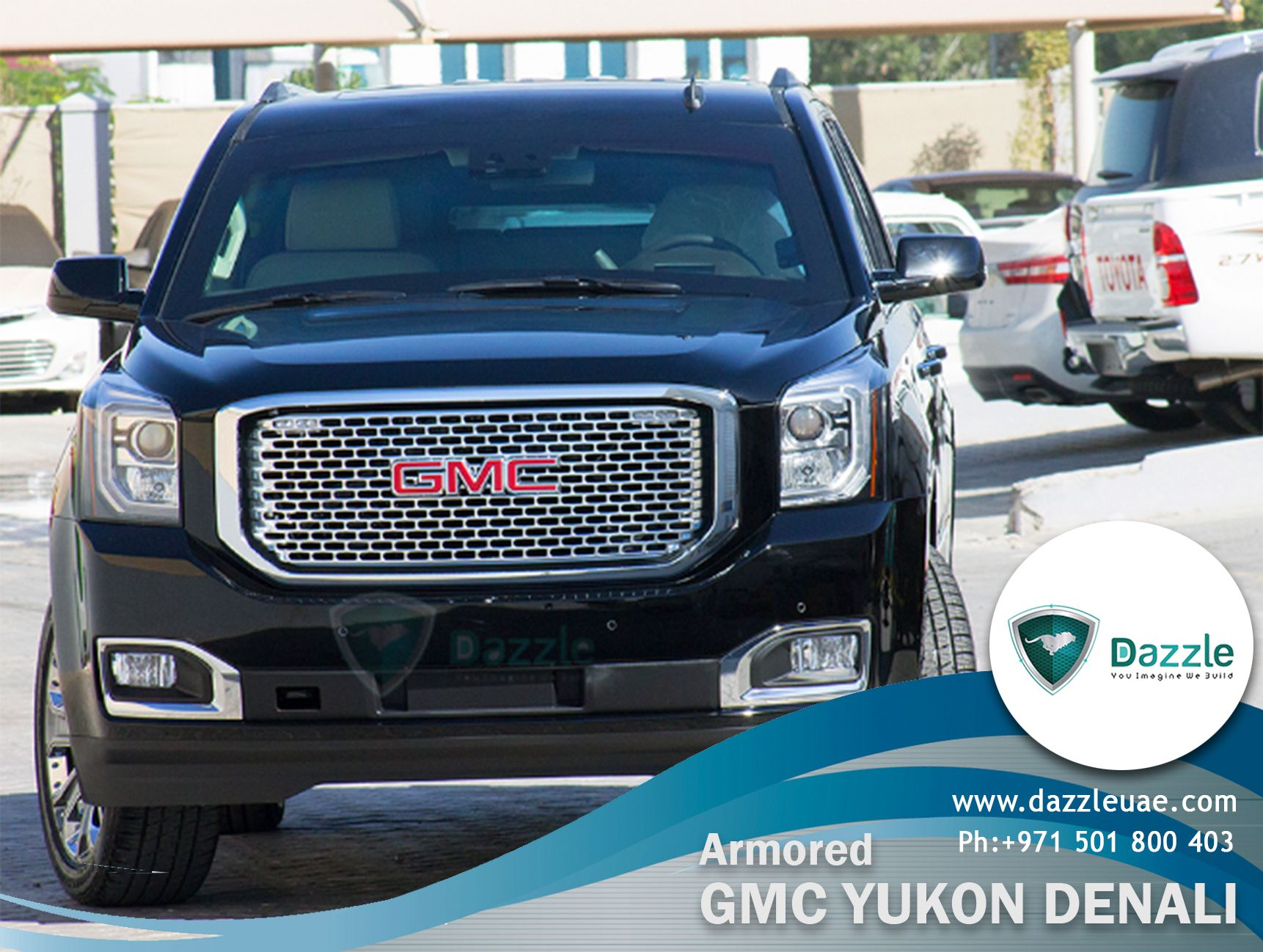 Dazzle Redesigned Armored Gmc Yukon Denali For Sale With Many