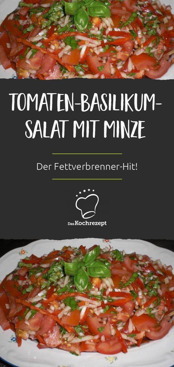 Tomaten-Basilikum-Salat mit Minze