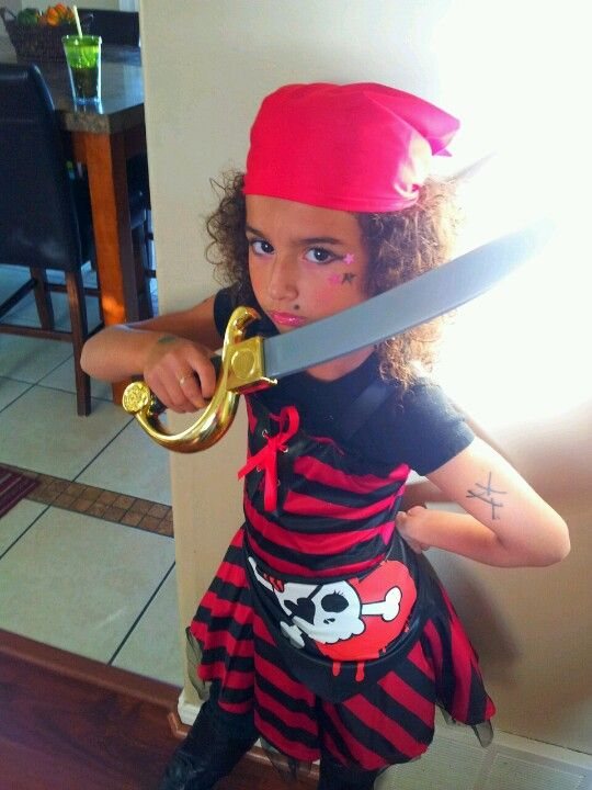 Pirate for halloween.. I think so!!