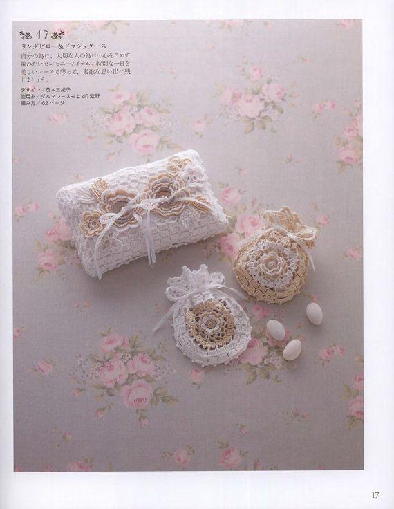Crochet Wedding Gift Pattern Japanese Crochet Craft Book
