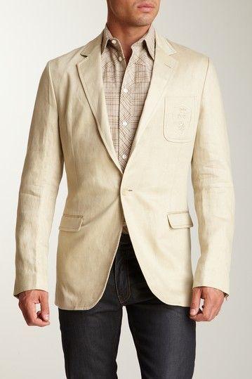 2f84f9d96b91 Dolce  amp  Gabbana Beige Blazer Linen Blazer