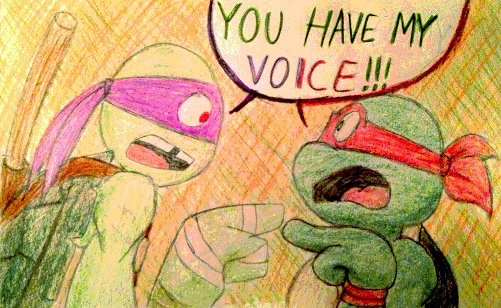 You Have My Voice By Yumenotenshixx Deviantart Com On Deviantart Tmnt Tmnt 2012 Teenage Mutant Ninja Turtles