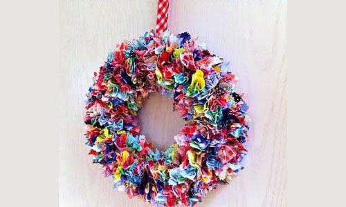 Fantastisch Nice 10 Geniale Anleitungen: Weihnachtsdeko Selber Machen: Weihnachtsdekoration  Selber Machen Türkranz