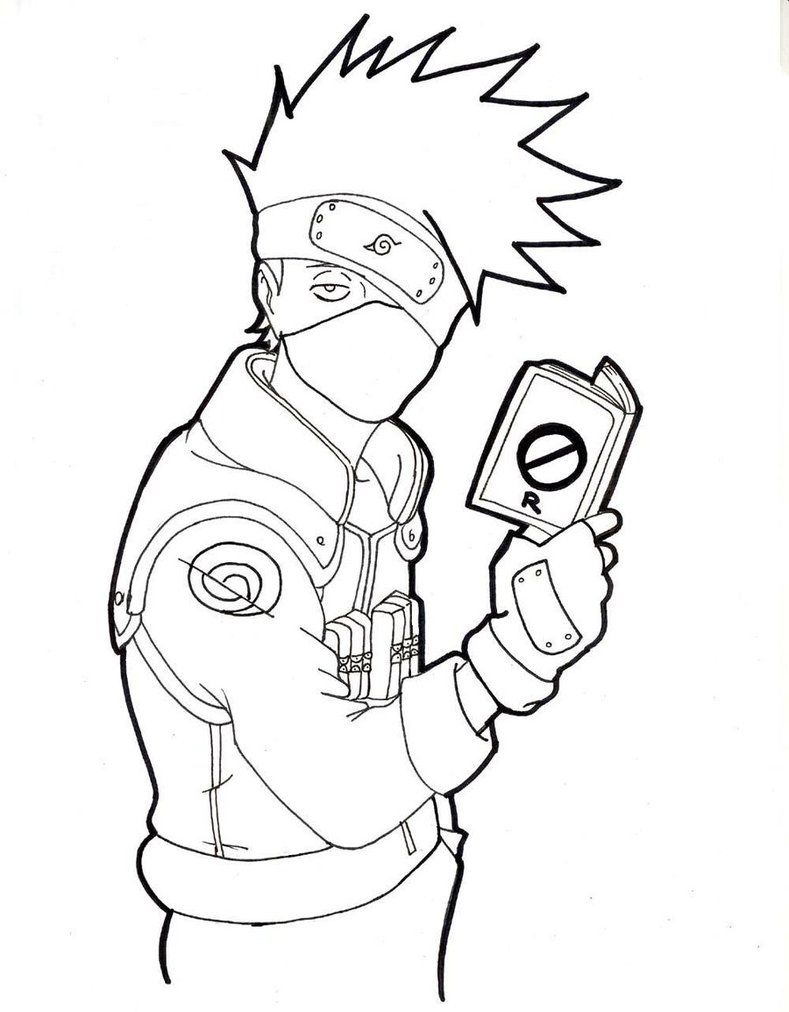 Kakashi Drawing Full Body Google Search Kakashi Drawing