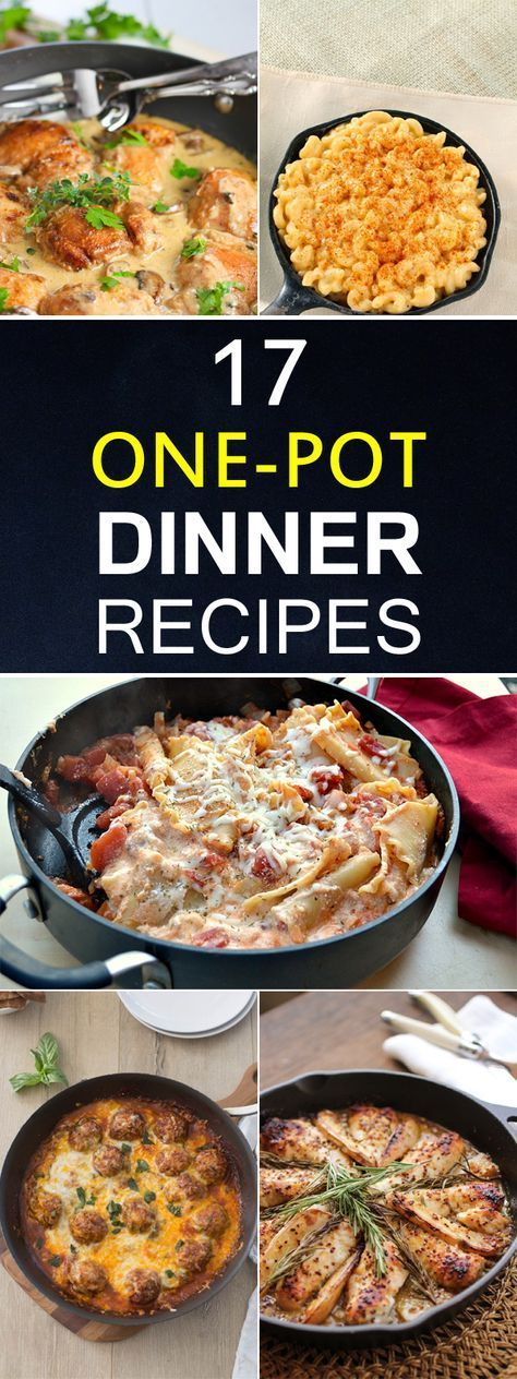 17 One-Pot Dinner Recipes Your Family Will Love images
