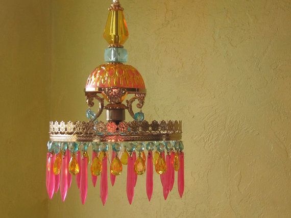 Beautiful little chandelier get in my house pinterest araa beautiful little chandelier aloadofball Images