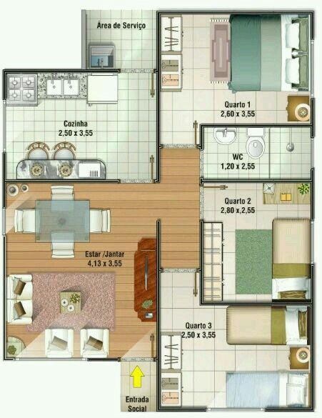 Croquis House Plans Home Design Plans Small House Plans