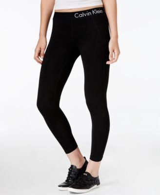 c62356fccb CALVIN KLEIN Calvin Klein Performance Cropped Logo Leggings.  calvinklein   cloth   leggings