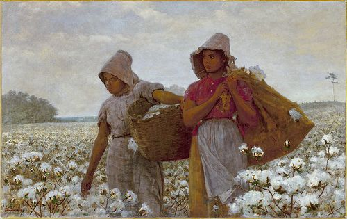 Winslow Homer - The Cotton Pickers [1876]