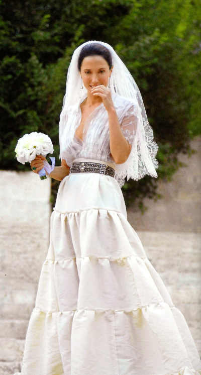 Amalia Dayan June 2006 Lanvin Dress Vogue Wedding Wedding