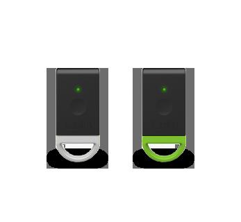 Black Tag/White + Black Tag/Green