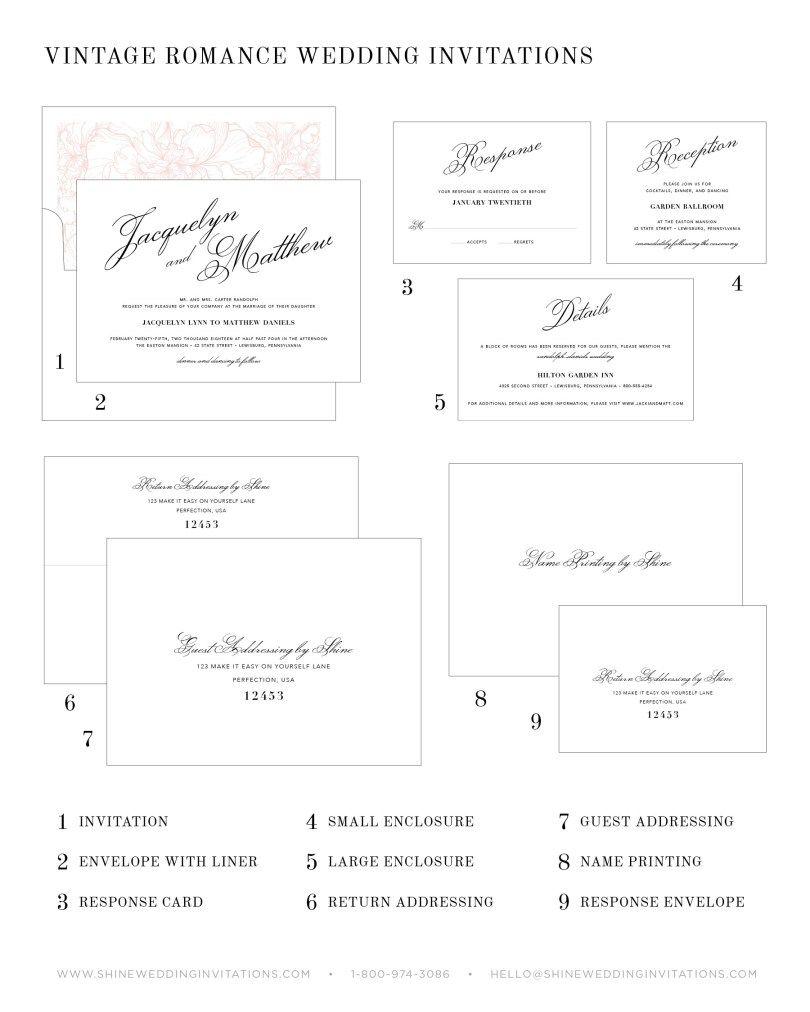 Addressing Wedding Invitations Monogram Wedding Invitations Script Wedding Invitations