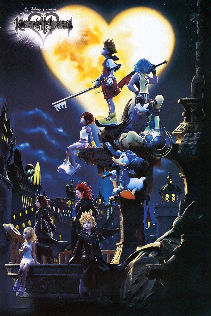 Kingdom Hearts 3 Game Poster Kingdom hearts wallpaper