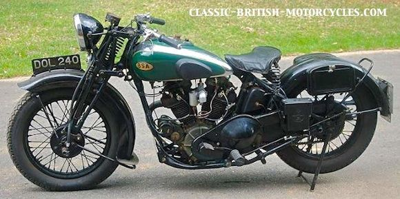 Bsa motorcycle history