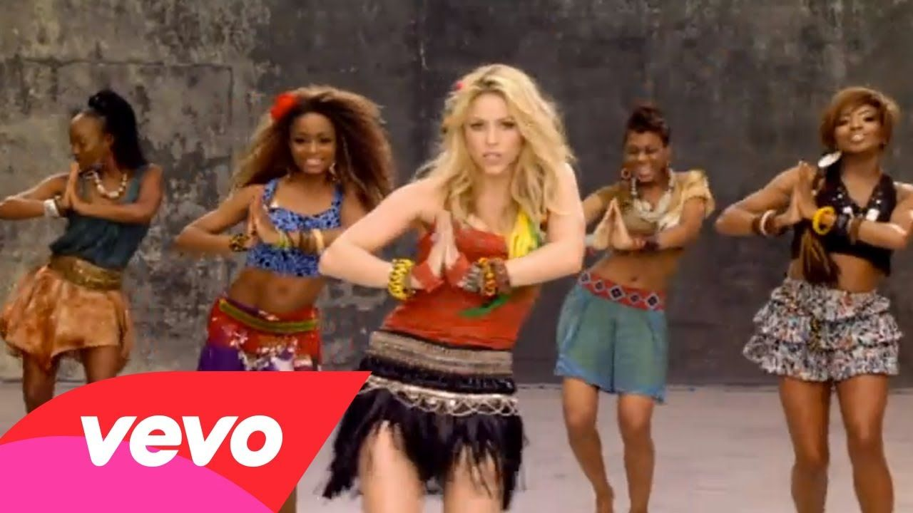 Shakira Waka Waka This Time For Africa Ft Freshlyground Time For Africa Shakira Waka Waka