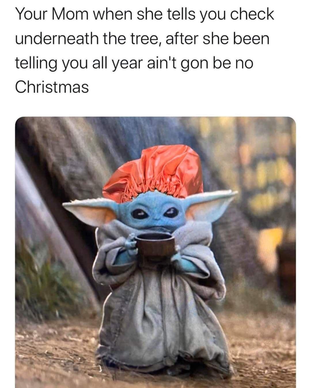 Baby yoda meme | Yoda meme, Funny babies, Funny relatable ...