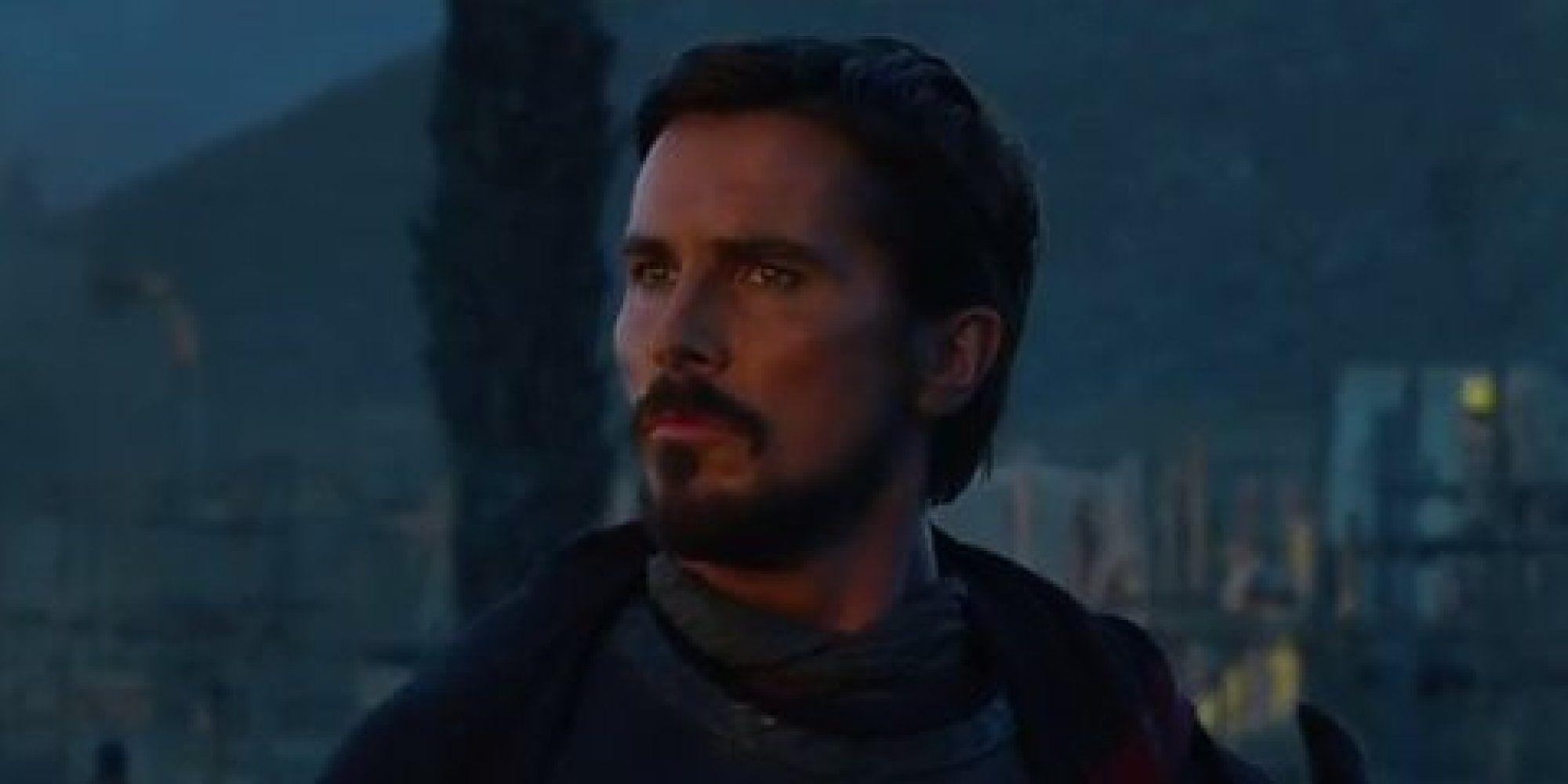 Christian Bale Has Gotten Inside Moses Head