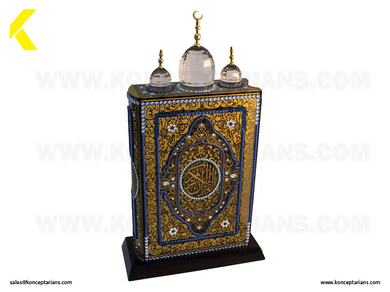 Beautiful Crystal Gift suggestion for Ramadan 2015. Check out our innovative gifting products at http://www.konceptarians.com/blog_detail.php?id=18