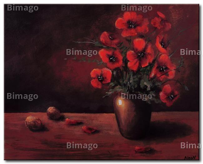 Wandbilder Mit Roten Mohnblumen Pictures Of Red Poppies Mohnblume Wandbilder Kunst Auf Leinwand