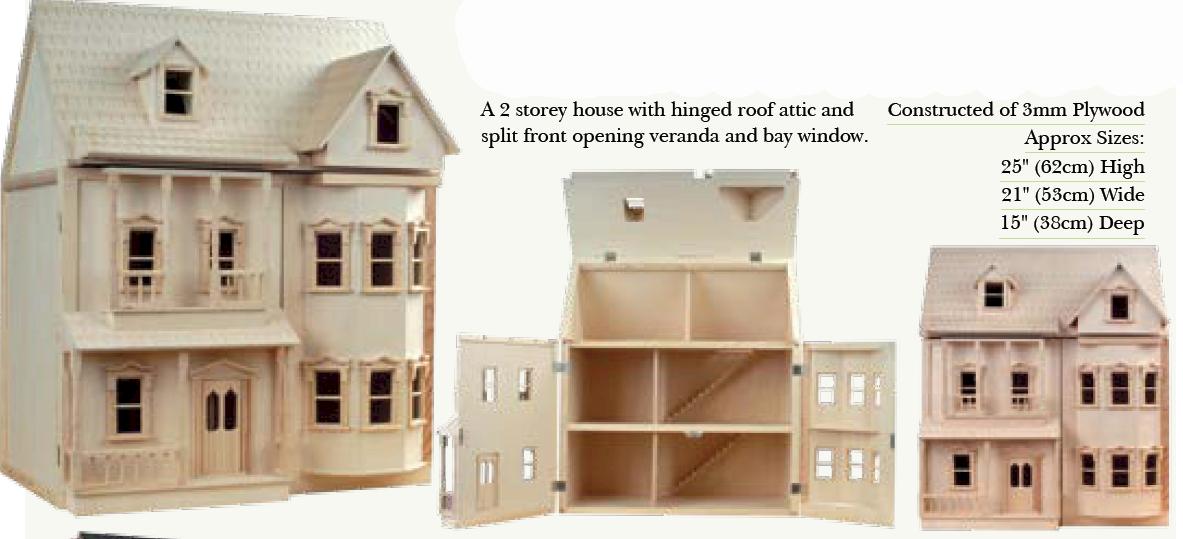 Wooden Dolls House   Google Zoeken