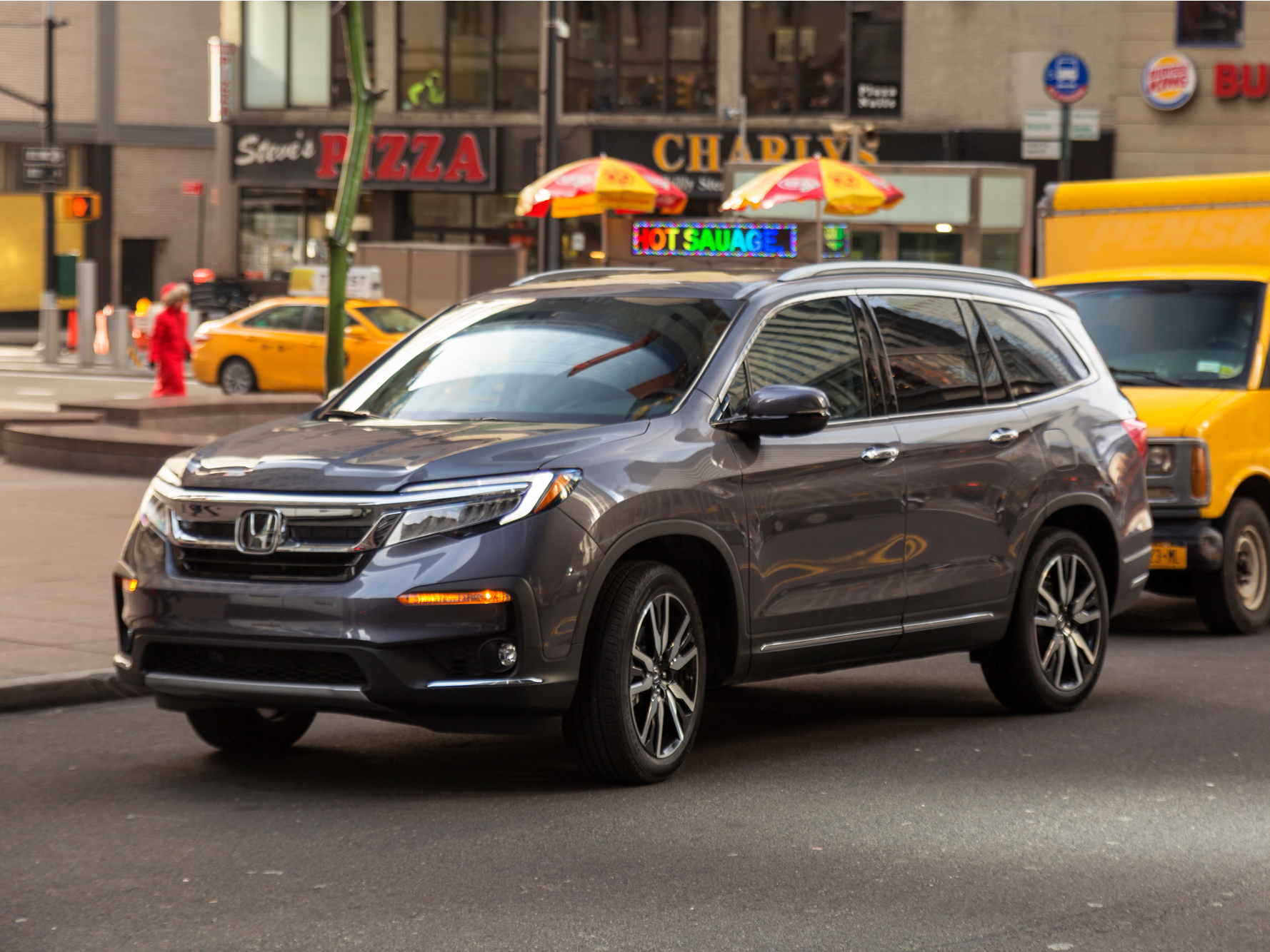 We drove a 49,000 Honda Pilot, one of the best family