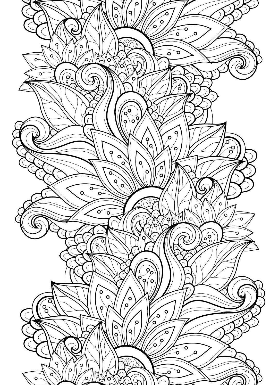 Lotus designs coloring book - Colour Calm Gift Pack 01 Sampler