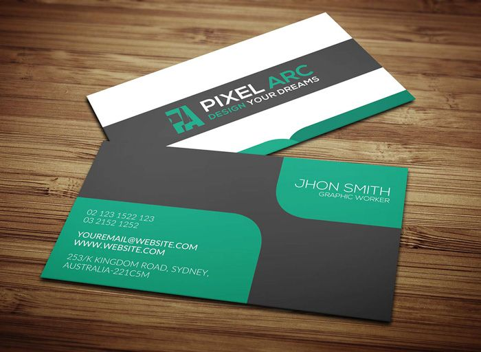Professional black business card business cards pinterest professional black business card reheart Image collections