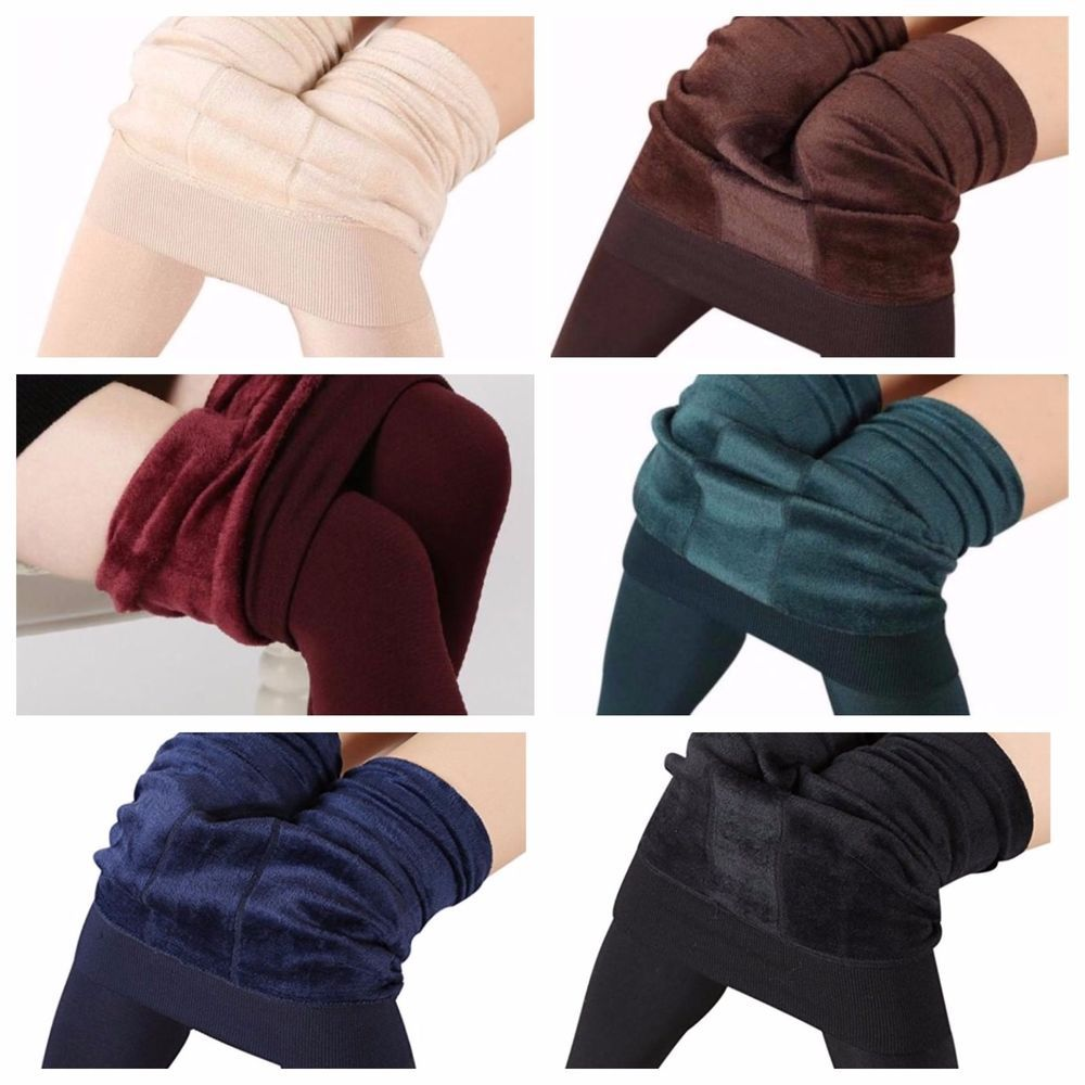 Winter Leggings Velvet Legging Women Pants Black Stretch Leggins Skinny Jeggings