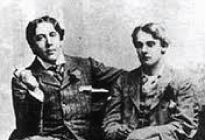 Time for our greatest literary couple: Oscar Wilde and Lord Alfred Douglas: In 1891 Oscar Wilde met Lord Alfred Douglas and the couple soon began an affair, although Oscar Wilde was married with two children at the time. Oscar Wilde's romantic relationship with Lord Alfred Douglas was also his downfall.