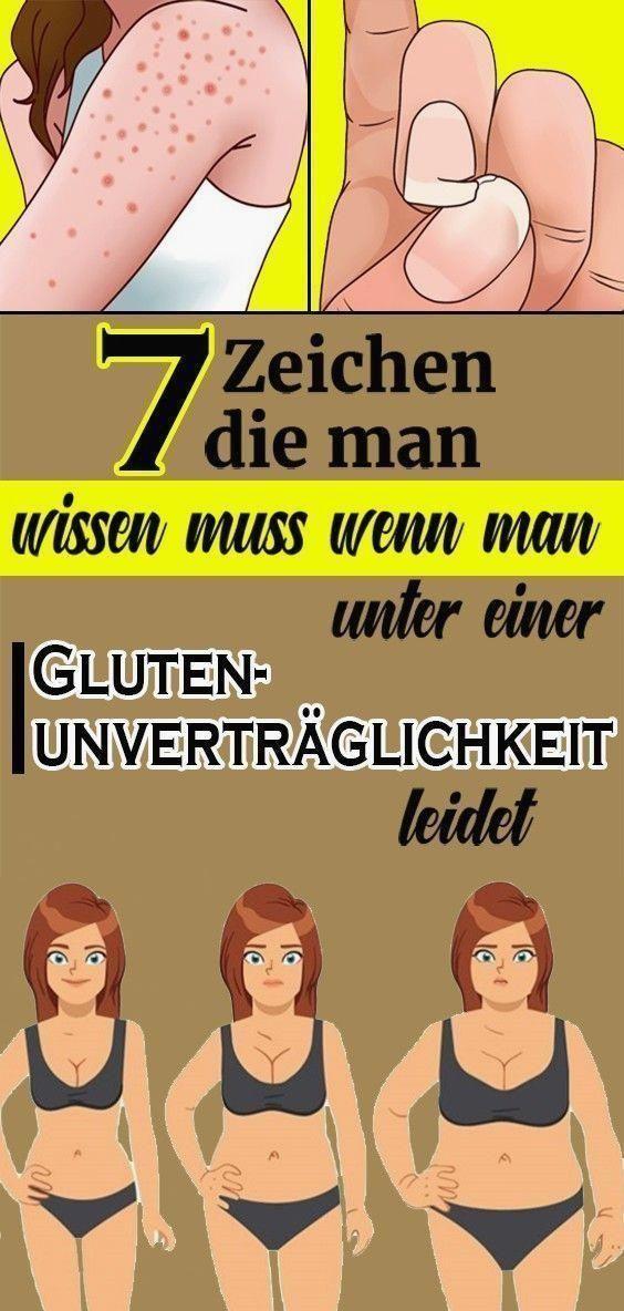 : 7 Zeichen, die man wissen muss, wenn man unter einer Glutenunverträglichkeit leidet #fitness…