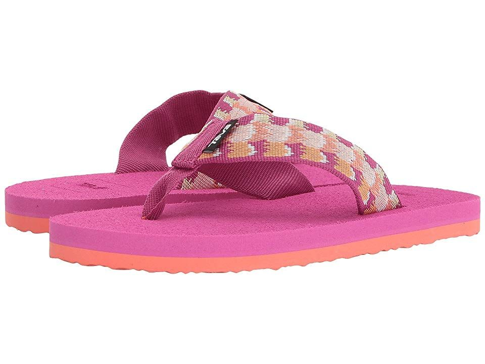 3562b92aa20f Teva Kids Mush II (Little Kid Big Kid) (Rhia Pink) Girls Shoes. The ...