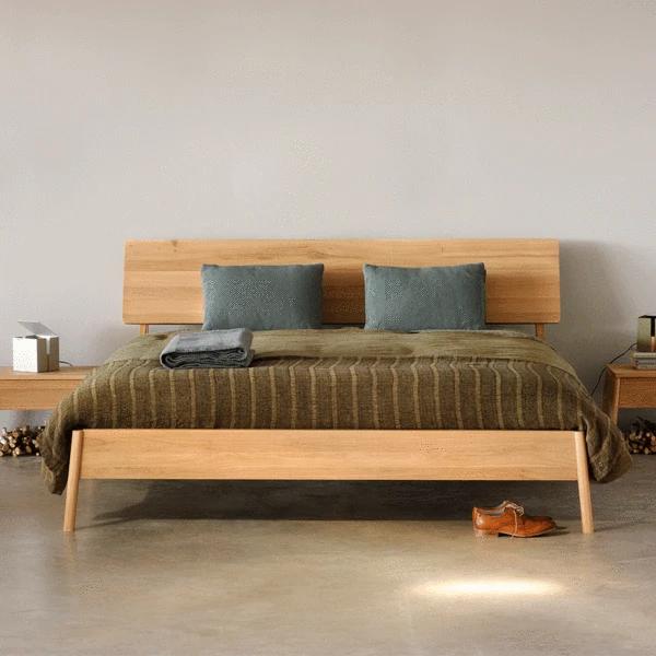 Air Bed in 2020 Oak bed frame, Air bed, Wooden bed frames
