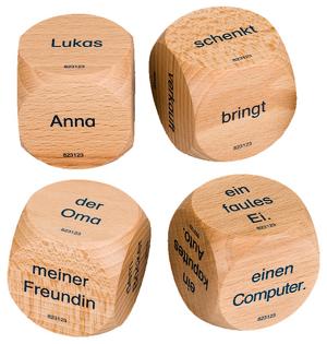 Deutsch plus - Lehrmittel Grundschule Satzbauwürfel 1./2 ...