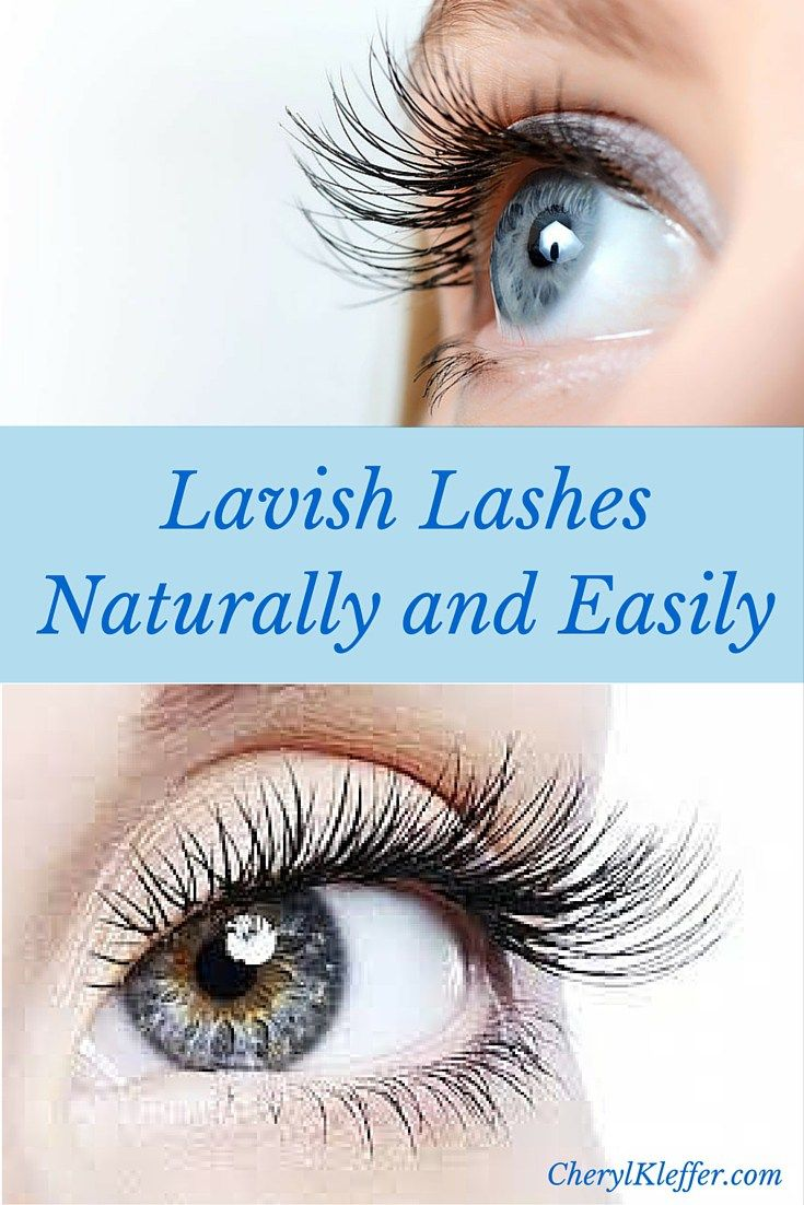 How to Thicken and Lengthen Your Lashes Naturally and ...