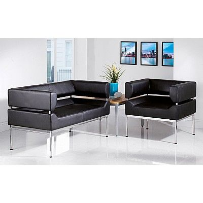 Astounding Benotto Faux Leather Reception Tub Seating 24Hr Delivery Machost Co Dining Chair Design Ideas Machostcouk