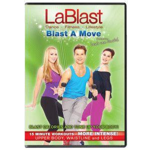 Lablast Dvd Blast A Move 15 Minute Workout Upper Body Workout