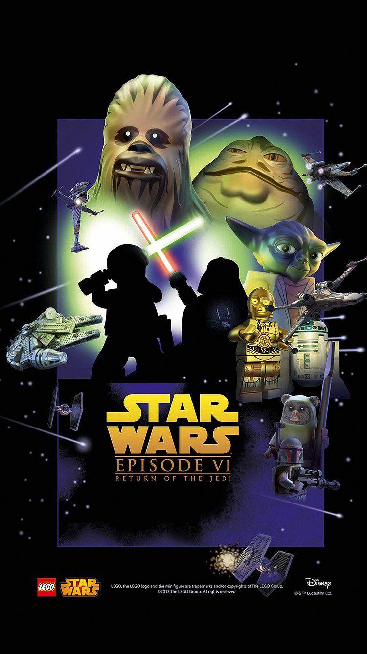Starwars Lego Episode 6 Return Of Jedi Art Film Wallpaper Hd