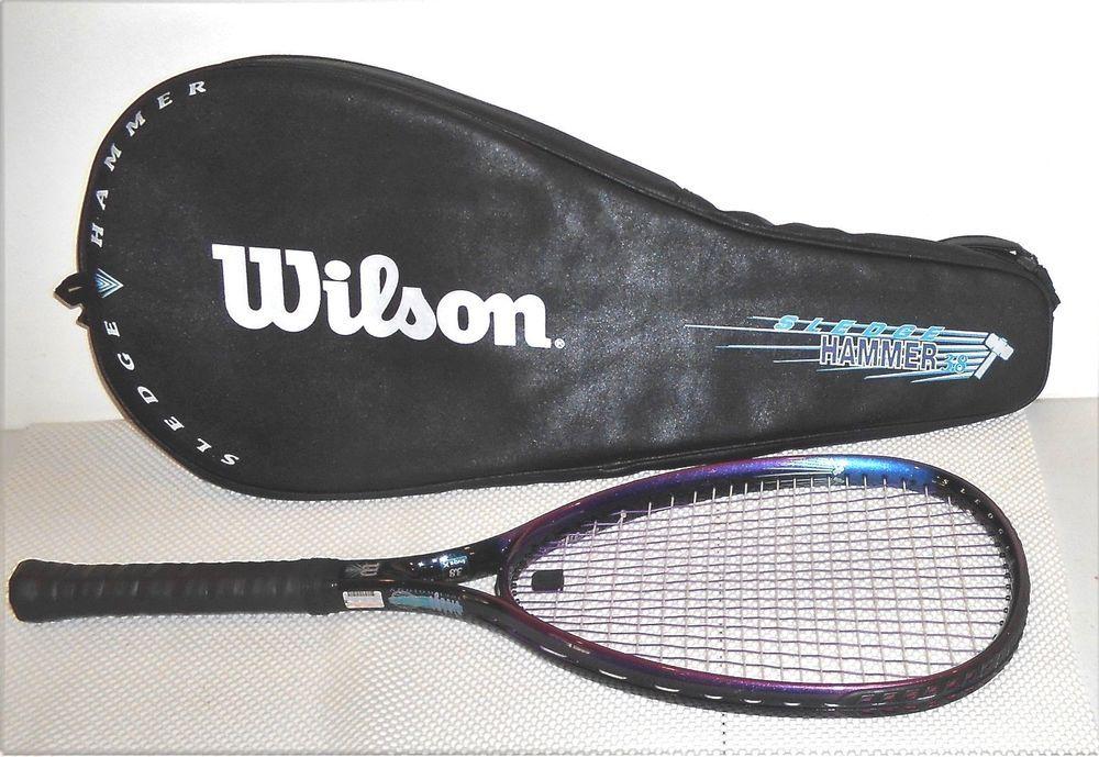 Wilson Sledge Hammer 3.8 110 Sq In Tennis Racquet & Case