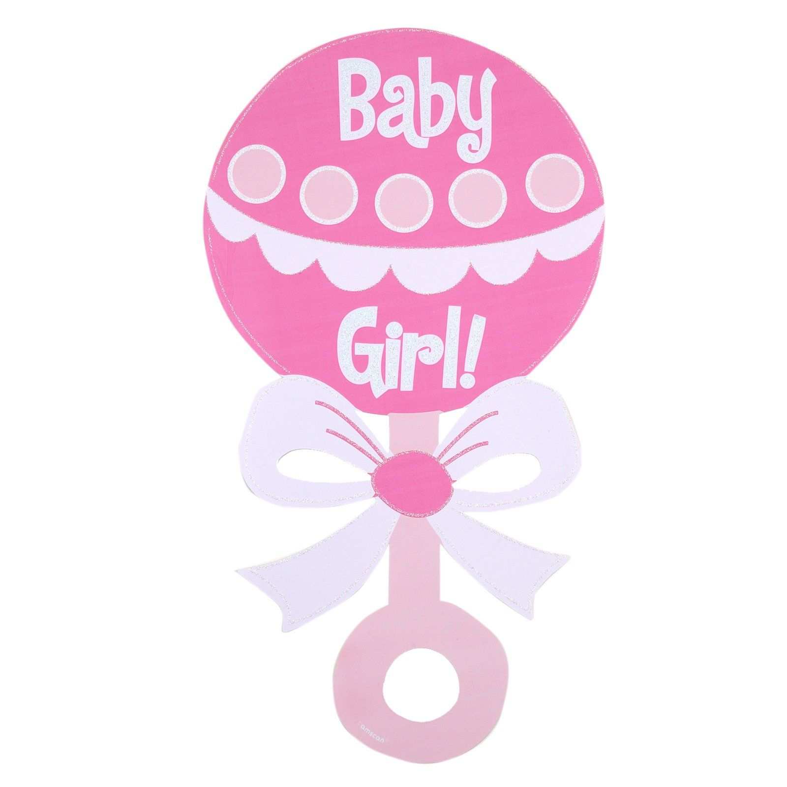 baby clipart girl baby girl rattle glitter cutout family rh pinterest ca baby rattle clipart images baby rattle clipart images