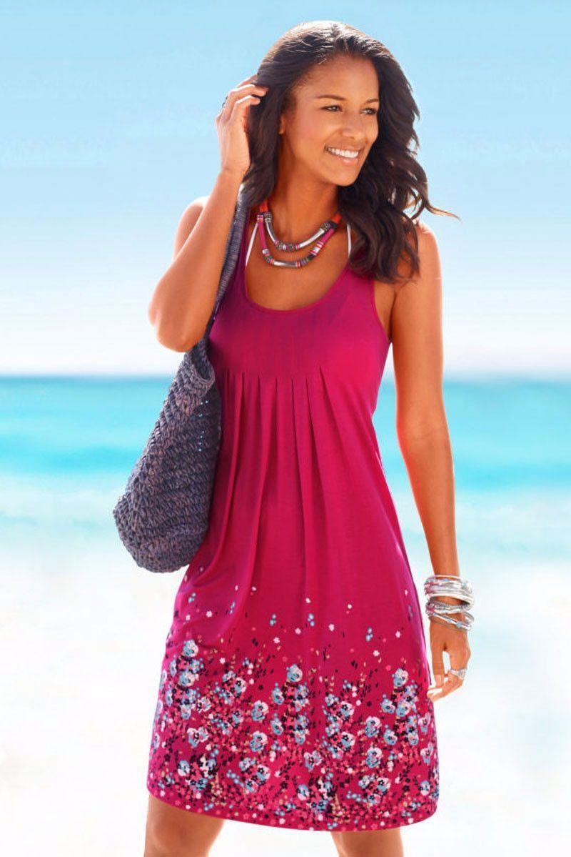 Empire waist summer dresses casual