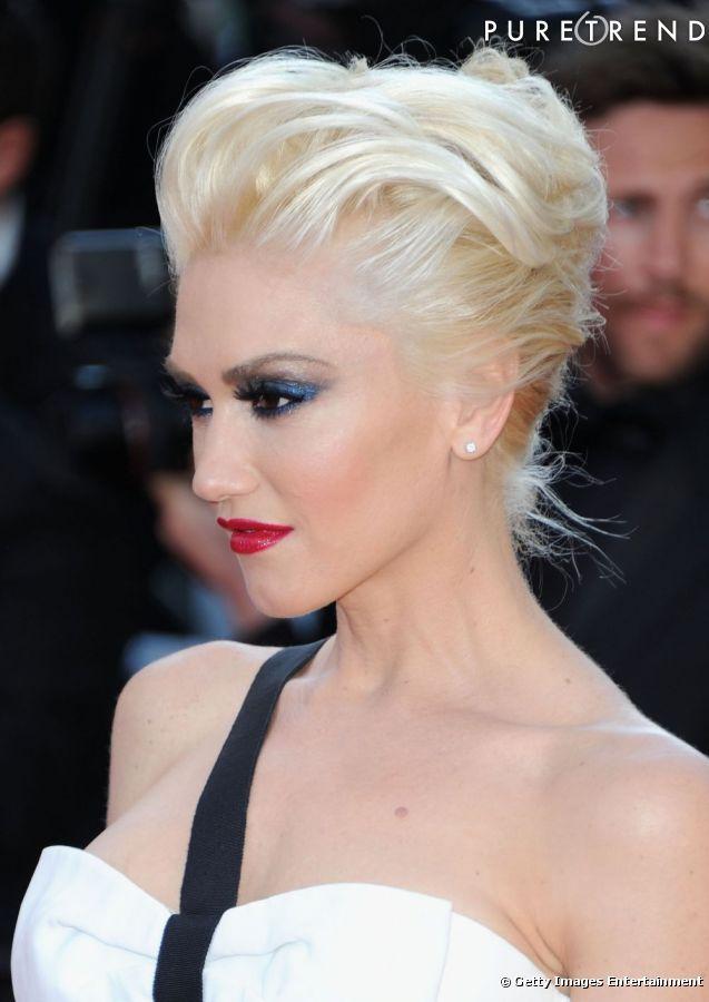 Photos 50 coiffures pour cet t un volume tr s rock roll et une crini re blonde platine - Blond platine femme ...