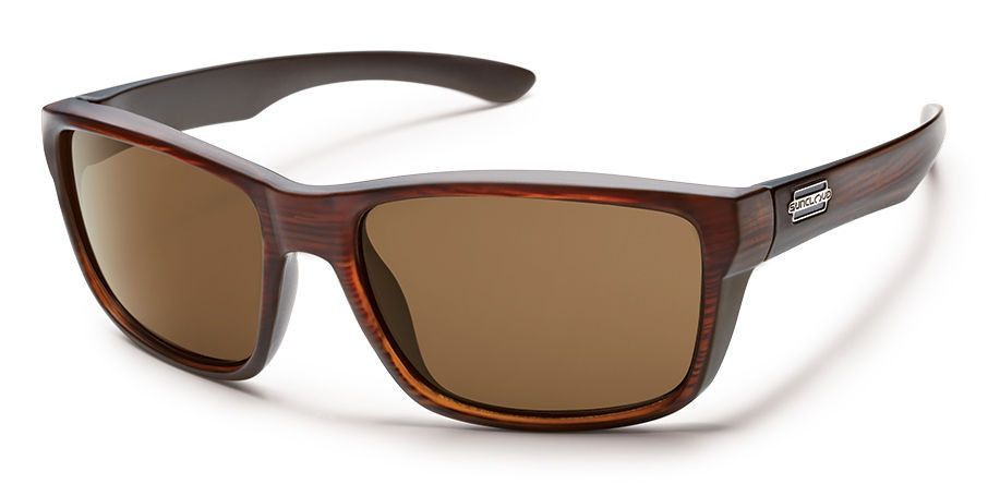 5461aefdb4 Suncloud Mayor Polarized Sunglasses Burnished Brown Polycarbonate Accessory  New