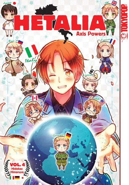 Hetalia Axis Powers Manga Volume 4