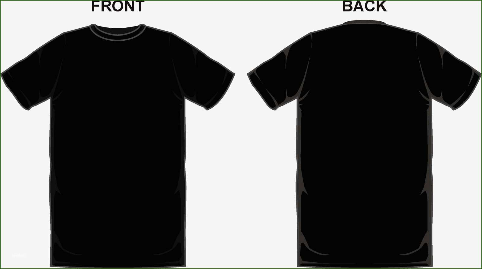 Download 12 Magnificent Black T Shirt Template T Shirt Design Template Hoodie Template Shirt Designs