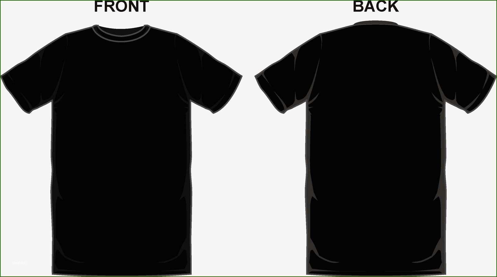 Download 12 Magnificent Black T Shirt Template T Shirt Design Template Hoodie Template Shirt Designs