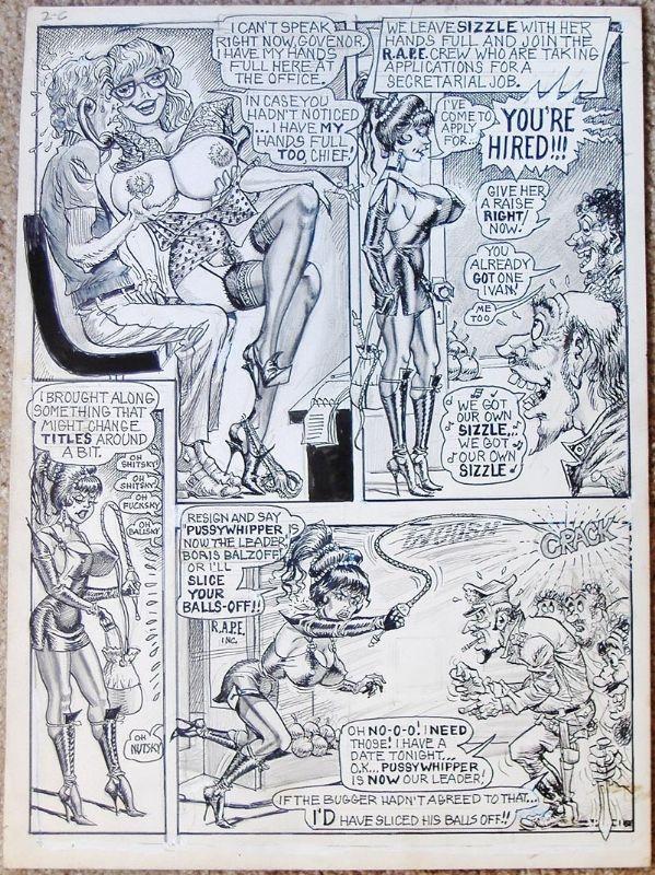 Art bill comic strip ward