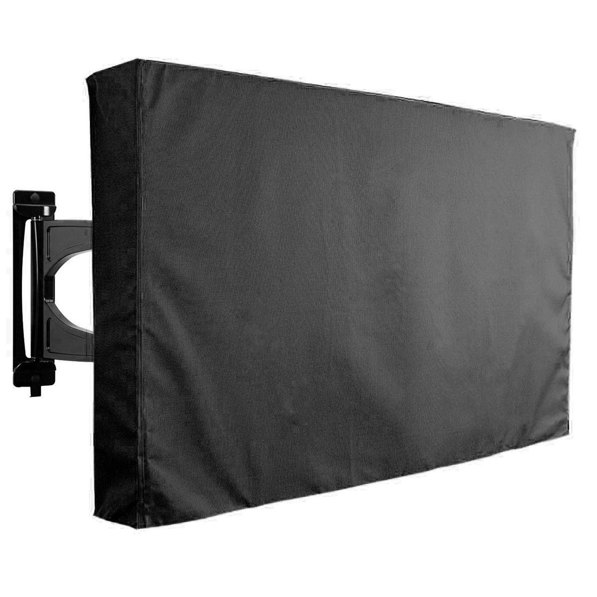 30 32 Inch Black Tv Cover Outdooors Patio Wall Mount Flat Protector Waterproof