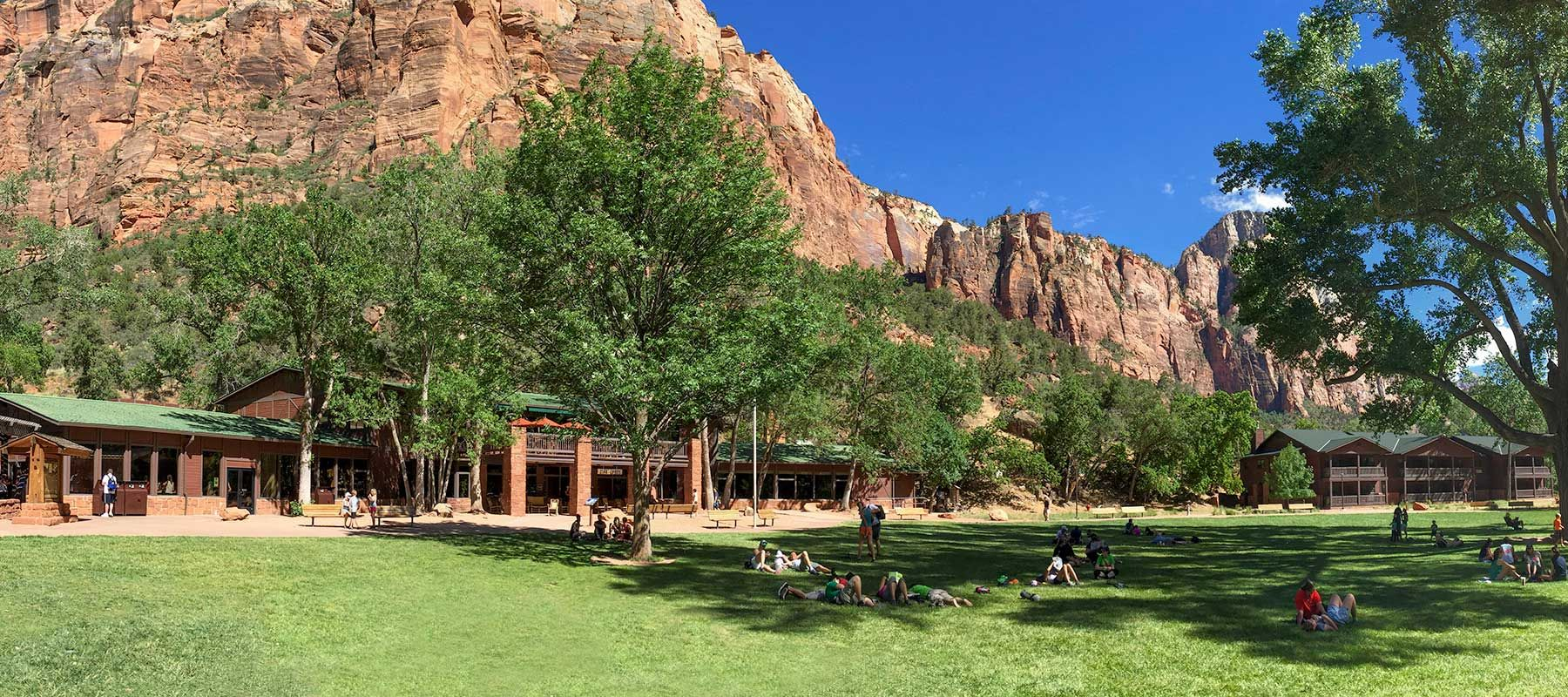 Zion Lodge Accommodations Cabins Hotel Suites National Park