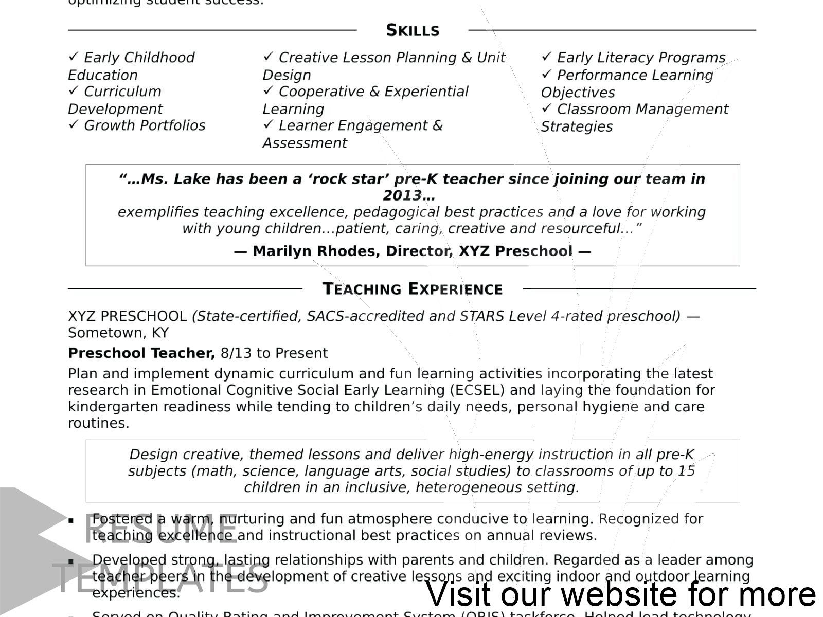 accounting resume template free in 2020 Curriculum