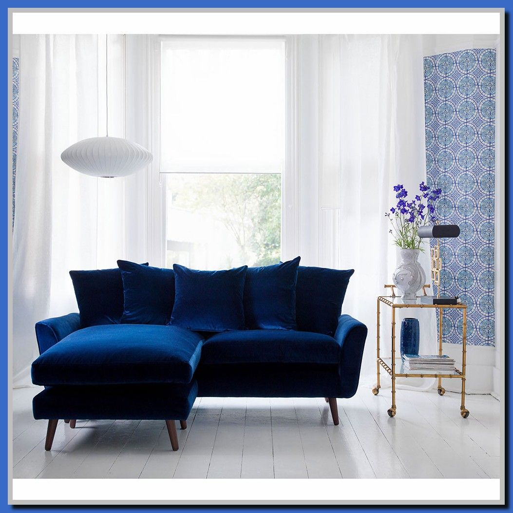 121 Reference Of Small Blue Sofa Bed In 2020 Blue Sofas Living Room Blue Sofa Living Blue Living Room